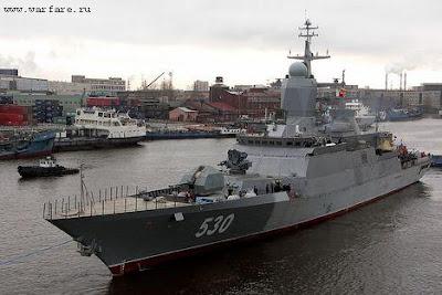 مالذي يقوله هذا الموقع الذي يتحدث عن صفقات الجزائر  Russia+Steregushchy+Corvette+Project+20382+Tiger+class+corvettes++DTN+News+June+28+2009