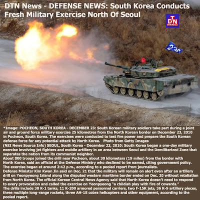 Defense-Technology News: DTN News - DEFENSE NEWS: South Korea ...