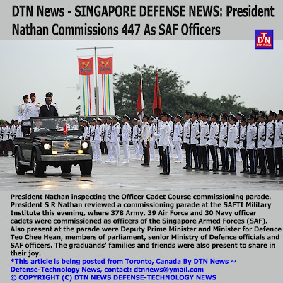 DEFENSE NEWS: DTN News - SINGAPORE DEFENSE NEWS: President Nathan ...