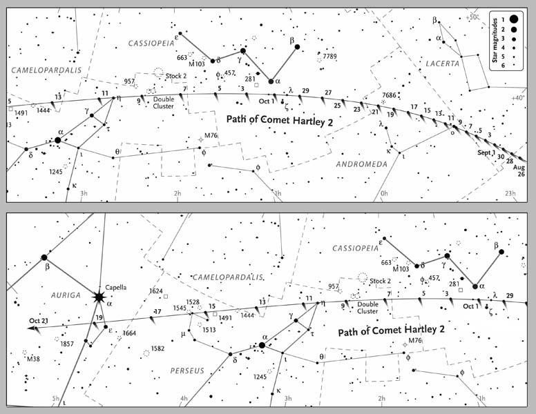 Cometa 103P/Hartley 2 Comethartley2bw