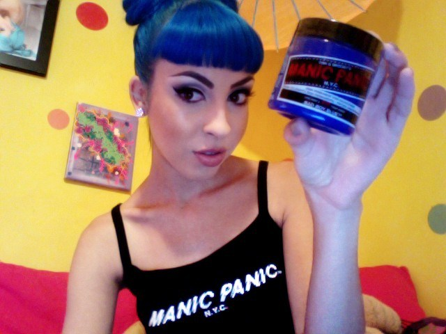 I got some great news that.. manic panic my favorite hair dye wanted to