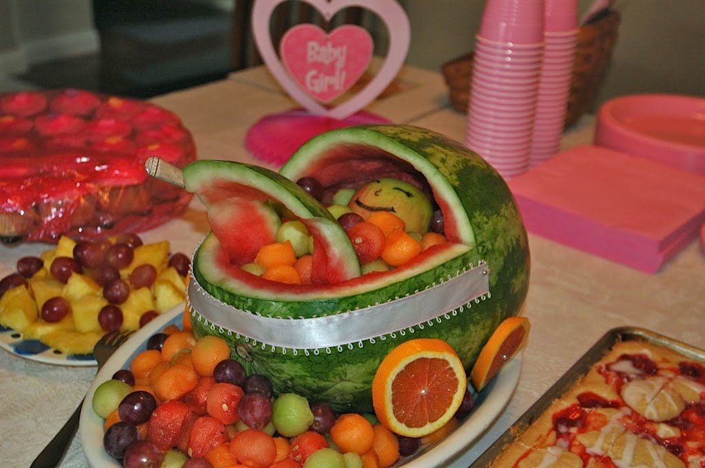 watermelon carving baby shower images pictures becuo