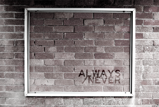 Always  /Never