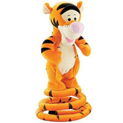 how to make a tigger tail