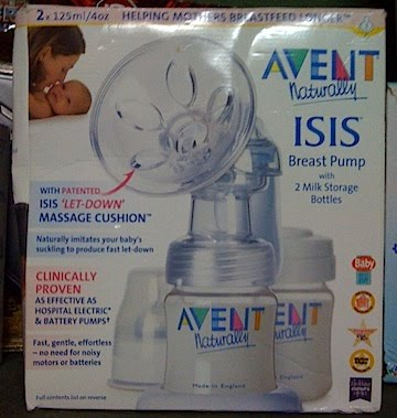 Avent breast iq isis pump uno