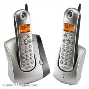 Our telephone - Cordless