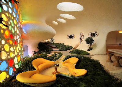 Light, colour and shape (Sachin Tendulkar&#8217;s New House)