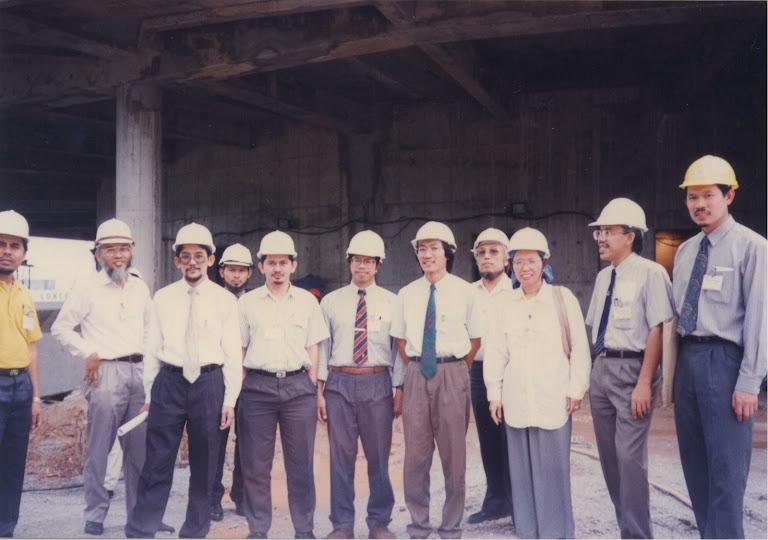 Dulu dan Kini: Di tapak pembinaan Menara KL