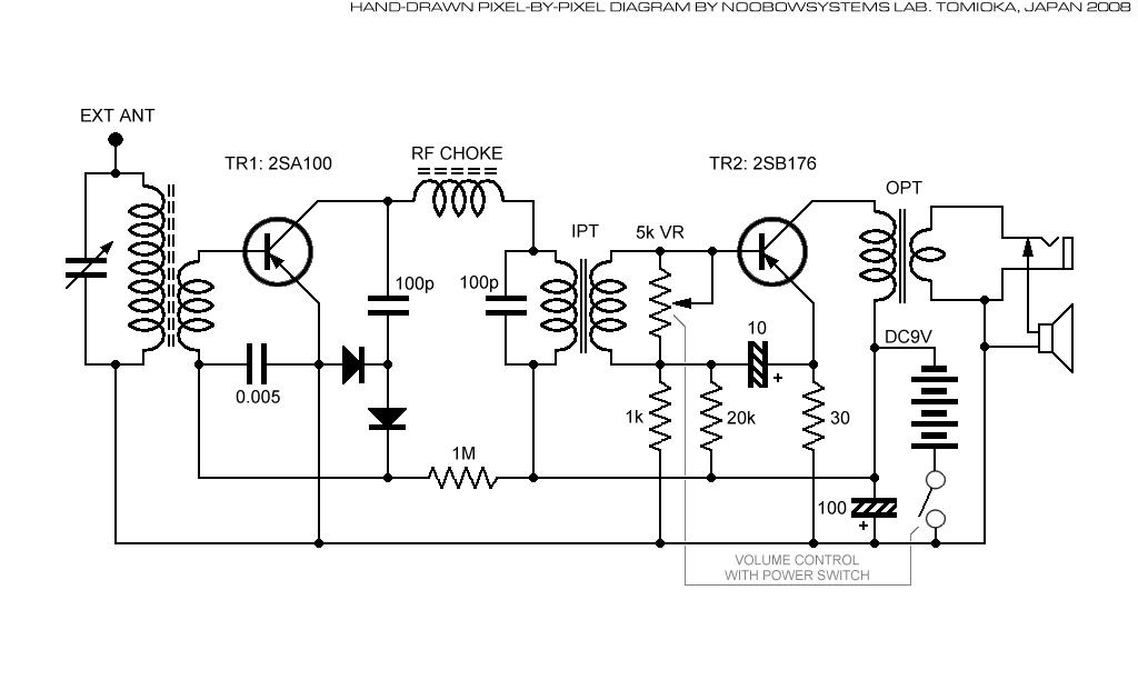 the radio builder  mw 2t reflex japanese 2sp