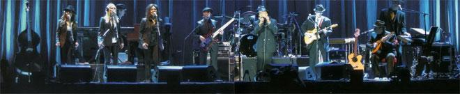 Leonard Cohen Band 2009
