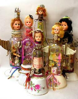 Kelli Nina Perkins: Junk Jar Dolls