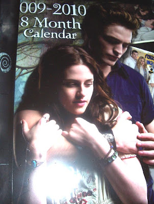 Twilight Calendar Bella and Edward image photo picture