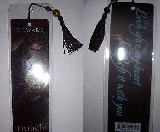 Edward Cullen Twilight Bookmark