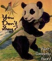 Panda Blogger Award