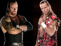 Shawn Michaels vs the Undertaker image photo picture