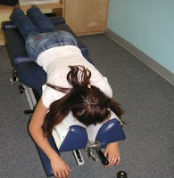 chiropractor adjustment image