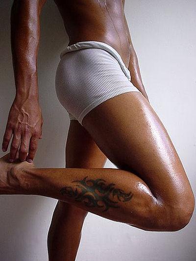 ... White Underwear ...
