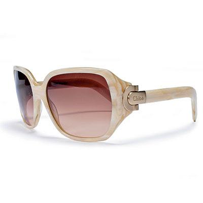 Heloise Beige Horn Sunglasses from Chloe photo via coastallivingcom