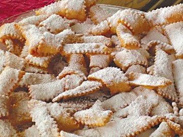 frappe,ricetta frappe,dolci carnevale frappe