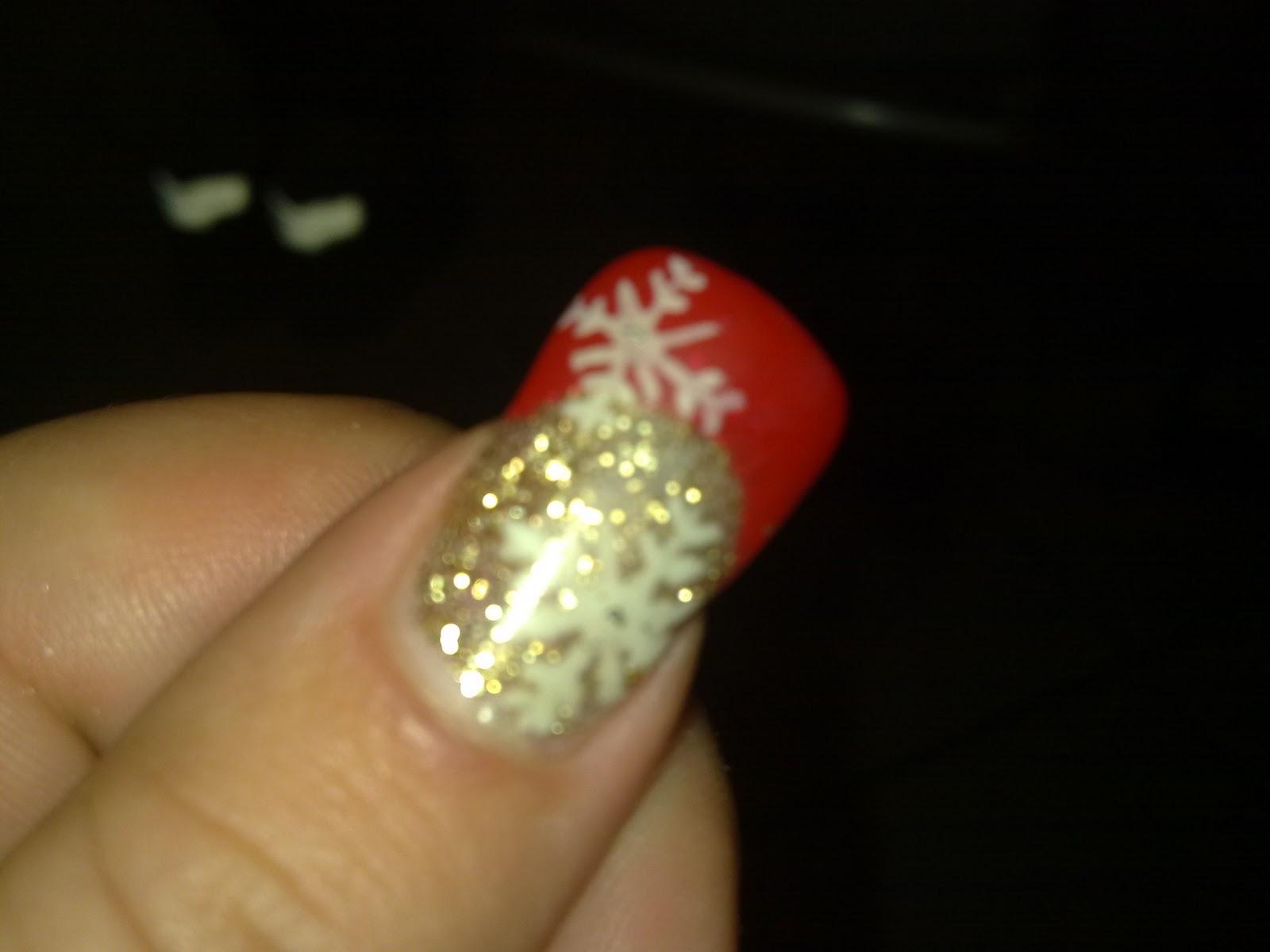 Fashionailstyle decorazioni natalizie for Decorazioni natalizie unghie
