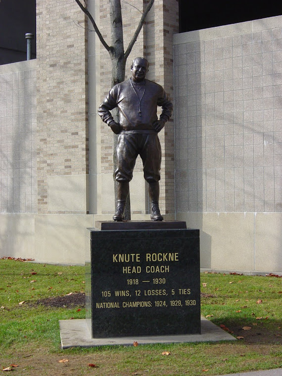 KNUTE ROCKNE