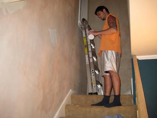 using fabric softener to remove wallpaper border