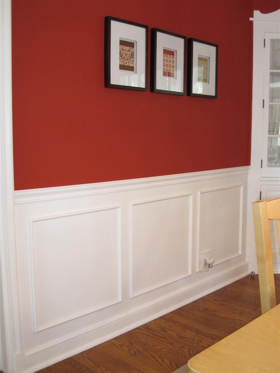 Dining room wall trim