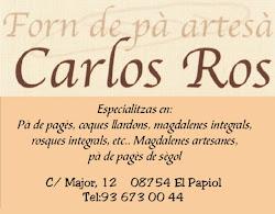 """FORN DE PA """"CARLOS ROS"""""""