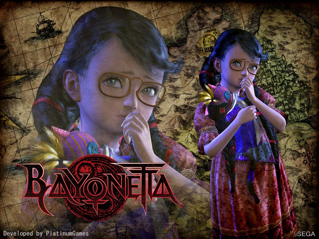 Bayonetta HD & Widescreen Wallpaper 0.342674400917107