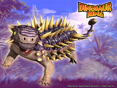 Spiny tank terry dinosaur king - Dinosaure king ...