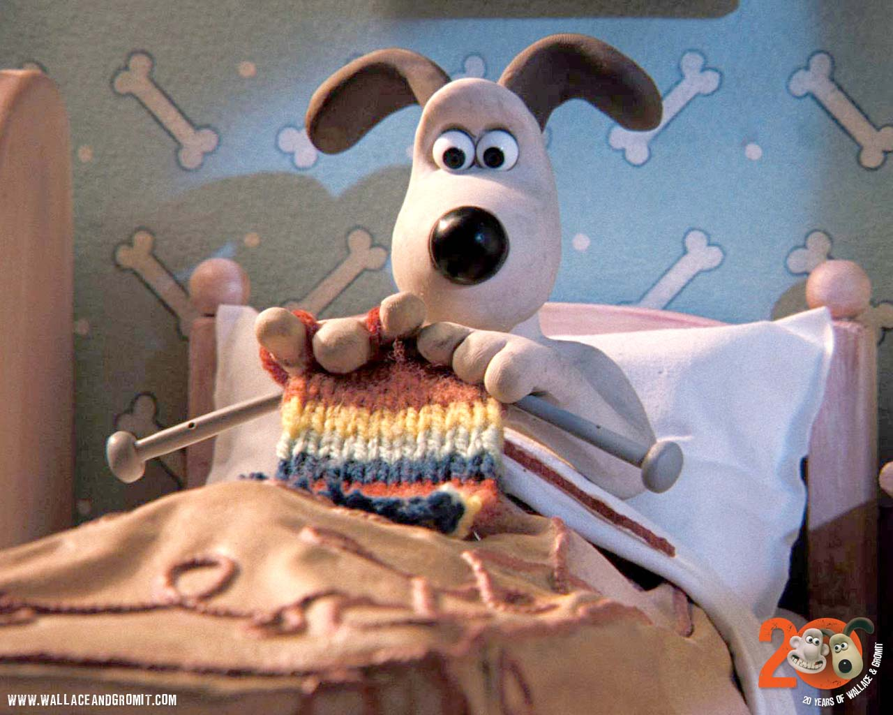 Wallace And Gromit Knitting Pattern : VIZIO BLOG: WALLACE & GROMIT: THE CURSE OF THE WERE-RABBIT