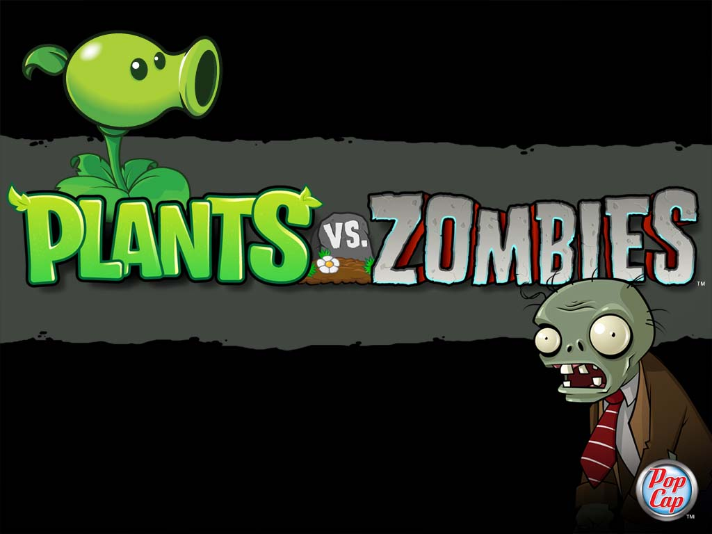 PLANTAS VS  ZOMBIES WALLPAPERS POPCAP GAMES