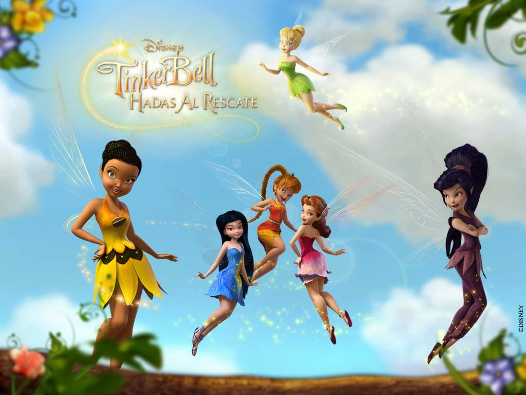 TINKER BELL: HADAS AL RESCATE MOVIE WALLPAPERS Y TRAILER OFICIAL