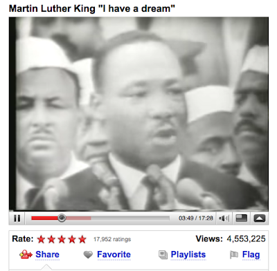 a review of martin luther king jrs popular statement i have a dream Full text and of martin luther king's i've been to the mountaintop  now that's a strange statement to make,  martin luther king, jr: i have a dream.
