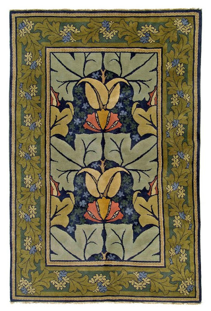 William Morris Fan Club The Beautiful Rugs Of C F A Voysey