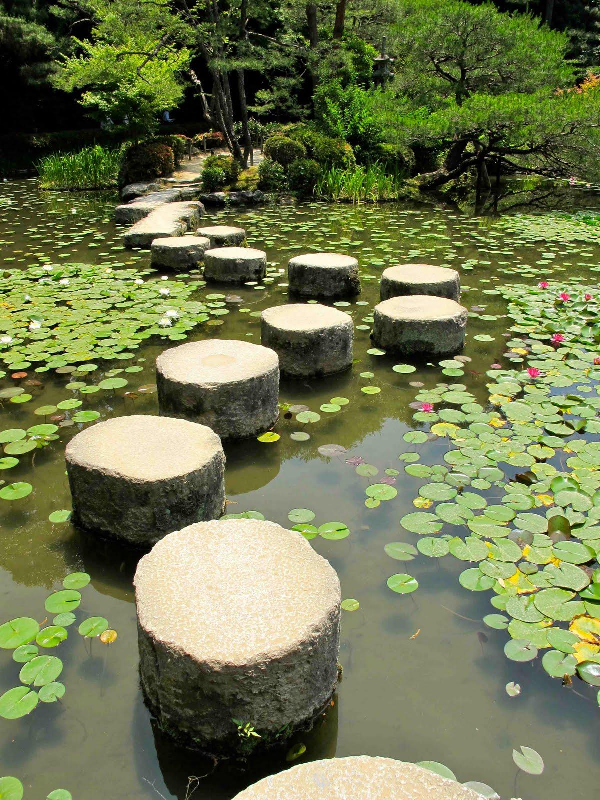 William morris fan club heian shrine kyoto japan for Japanese garden features