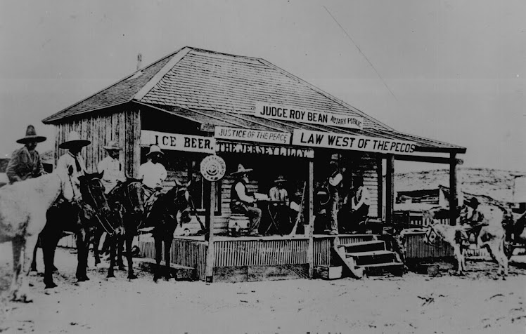 Judge Roy Beans Courthouse and Saloon