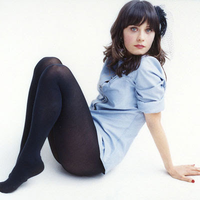 Deschanel Feet Markie Post Legs