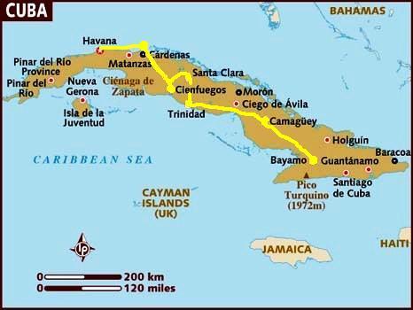 Five Giants Cuba Bayamo