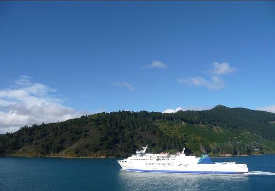 Esto también desde el ferry de Picton