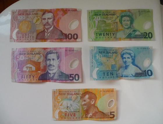 Más billetes de Nueva Zelanda (dinero)