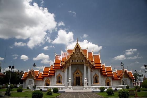 Este es uno de los templos que visité en Bangkok