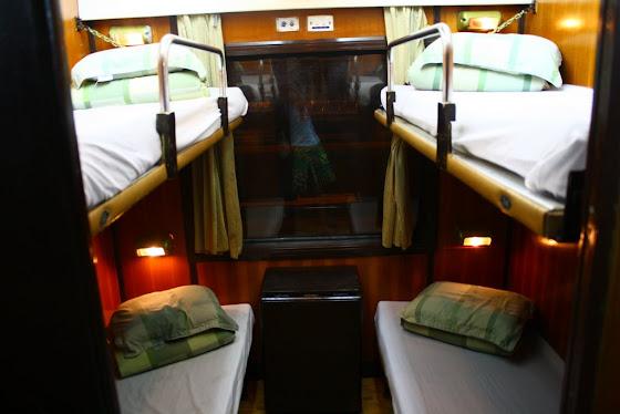 Sleeping Train hacia Sapa, Vietnam