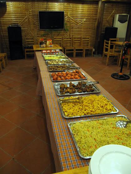 La mesa de la comida