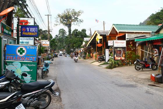 Calles de Ko Chang