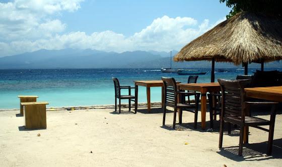Gili Islands en Indonesia