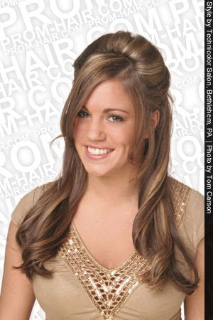simple prom hairstyles. Simple and Easy Prom