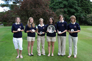 Renfrewshire's winning team-click to enlarge