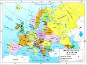 Europa es la prolongación occidental de Asia. Europa se levanta como el . (europa pol)