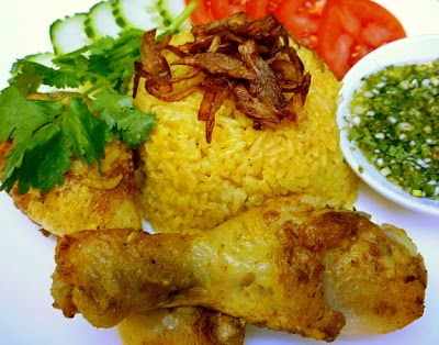 ... khao Mok Gai ข้าวหมกไก่ Southern Yellow Chicken